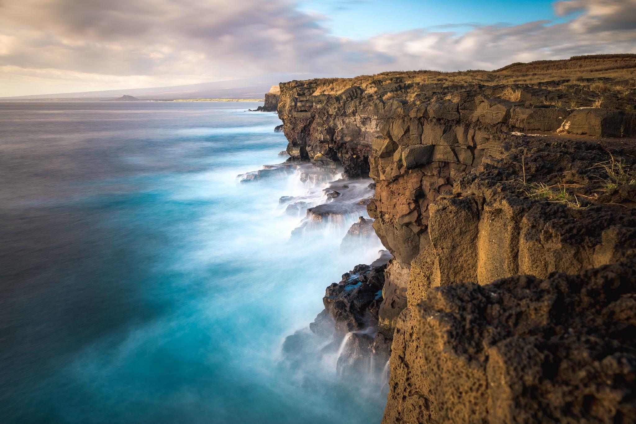 Paysage d'Hawaï