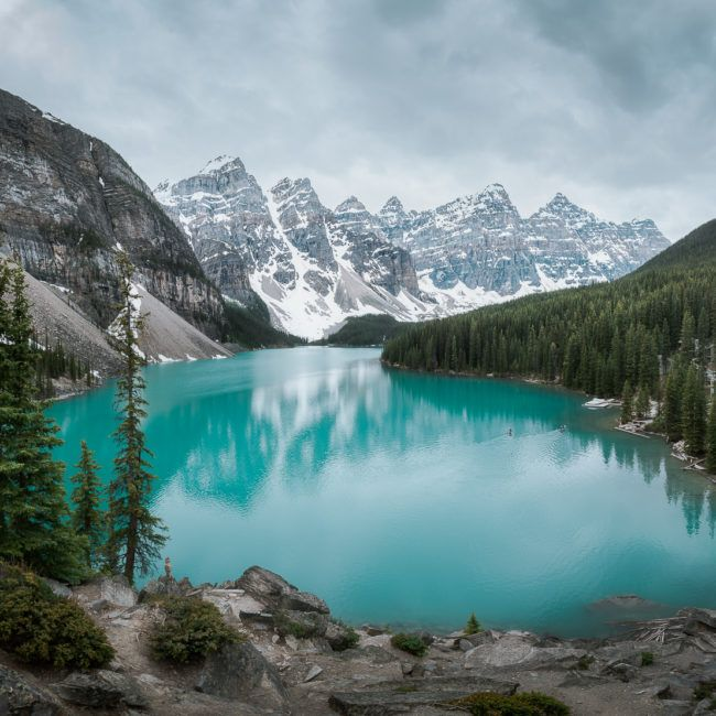 Moraine lake et les