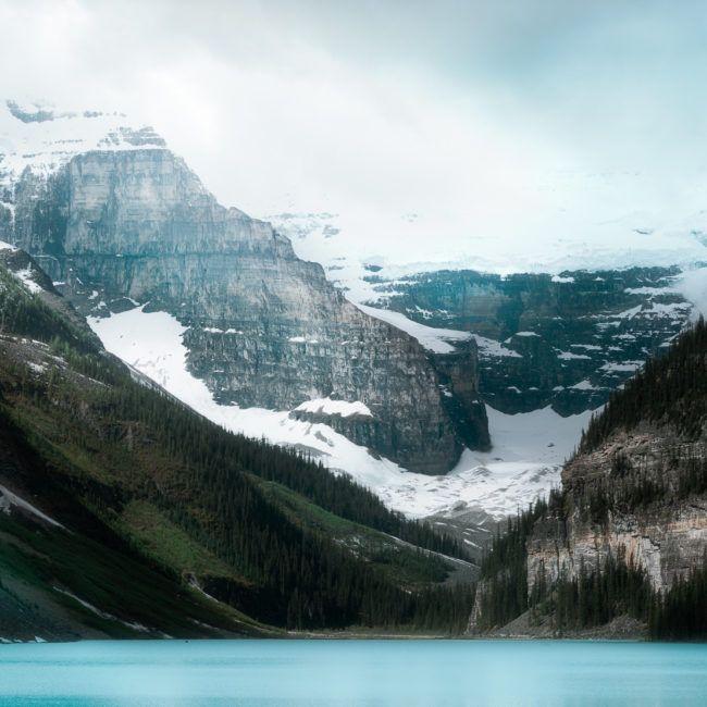 Le Lac Louise et ses eaux sublimes