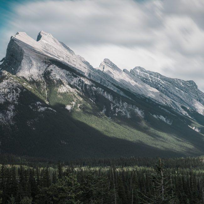Le Mont Rundle près de Banff
